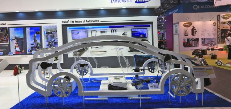 Samsung презентував акумуляторну батарею на 600 км