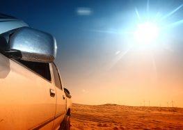 Температура в автомобілі може перевищувати 80 градусів!