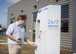 Ford прийме машину в сервіс через термінал самообслуговування