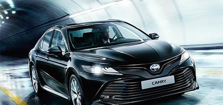 Нова Toyota Camry вже доступна в Україні