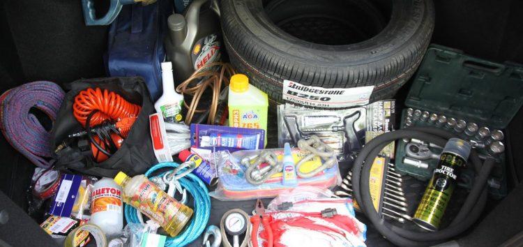 Захаращений багажник збільшує витрати палива