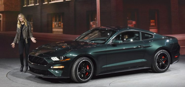 Ford презентував спецверсію Mustang Bullitt