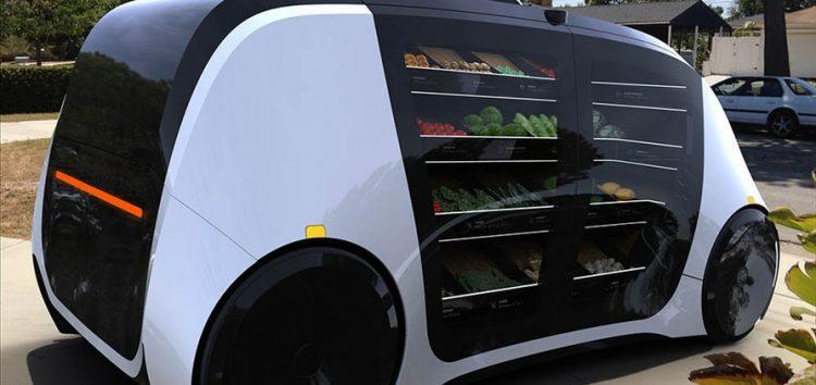 Створено безпілотний магазин на колесах