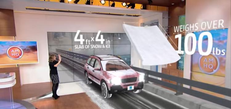 Очищайте автомобіль від снігу повністю