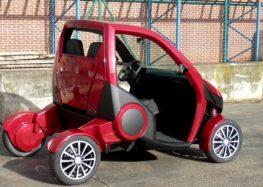 Ізраїльські інженери створили складний автомобіль