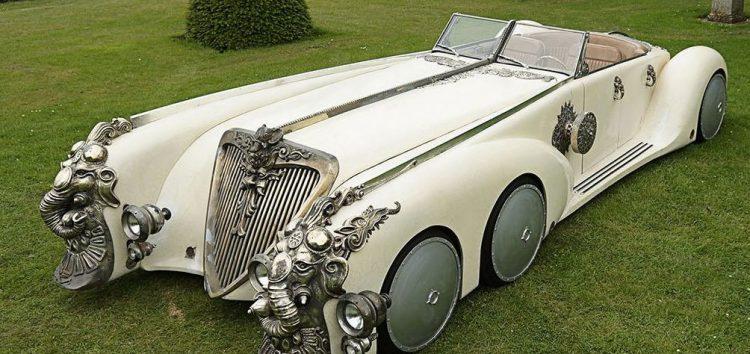 Незвичайні шестиколісні автомобілі