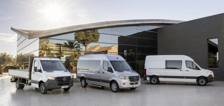 1700 варіантів Sprinter від Mercedes-Benz