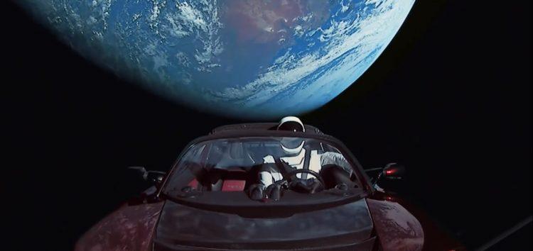 Як Falcon вивозив Tesla в космос (відео)