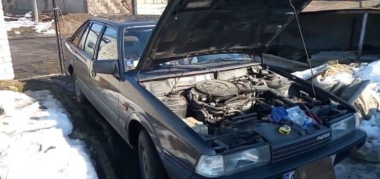 Заміна паливного фільтра SCT ST 336 на Mazda 626 (відео)