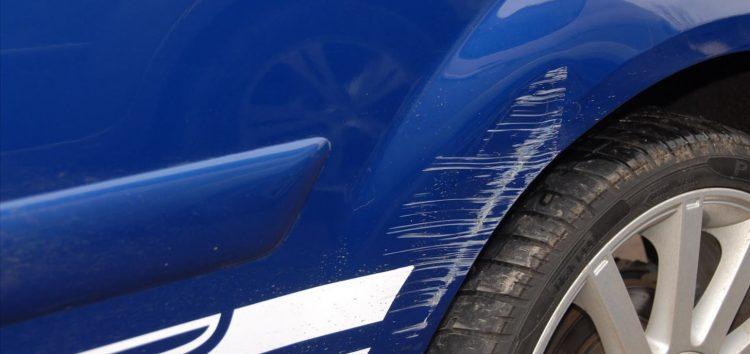 Ваші дії, коли машину пошкрябали на стоянці