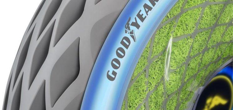 Goodyear створив шини з мохом та штучним інтелектом