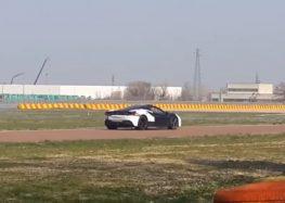 На треку помітили беззвучний Ferrari (відео)