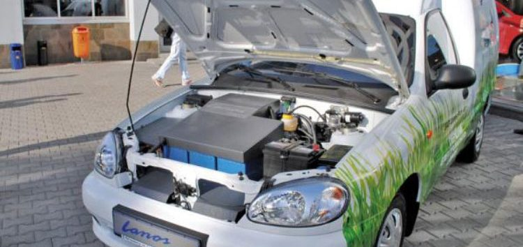 Українські електрокари: ZAZ Lanos Pick-up Electro