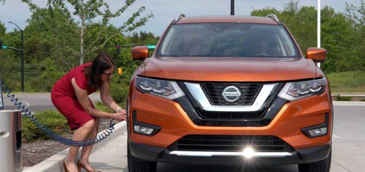 Nissan показав «розумну» систему підкачки шин