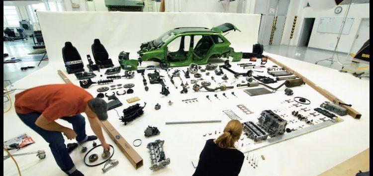 Як розібрати машину за хвилину (відео)