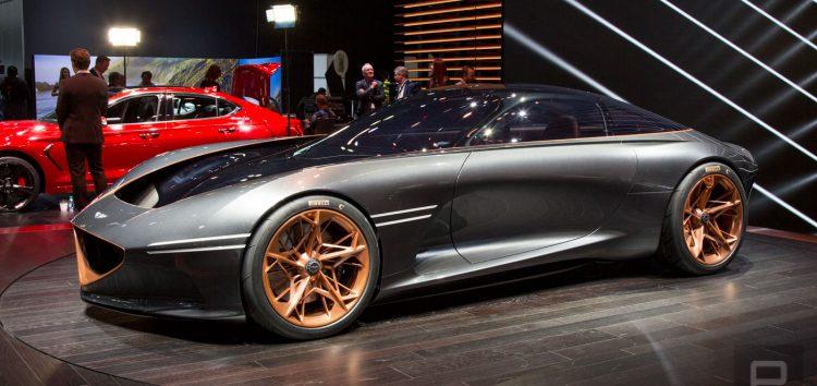 Автомобільне майбутнє від Genesis Essentia