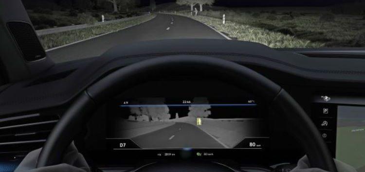Volkswagen Touareg використає інфрачервоне випромінювання