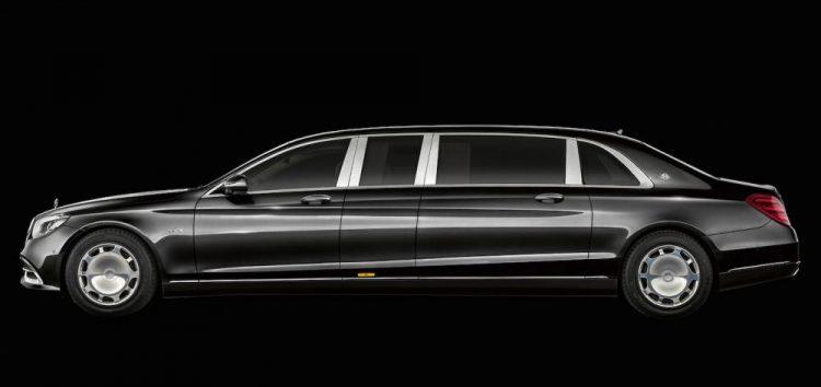Mercedes-Maybach показав лімузин Pullman