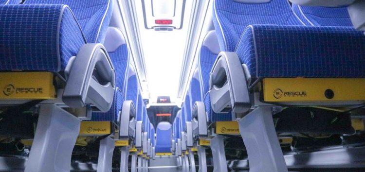 Іспанські автобусні крісла рятують життя людей (відео)