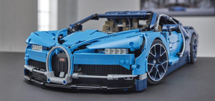 Bugatti Chiron зробили з кубиків Lego
