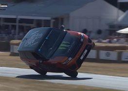 Range Rover Sport SVR поставив двоколісний рекорд (відео)
