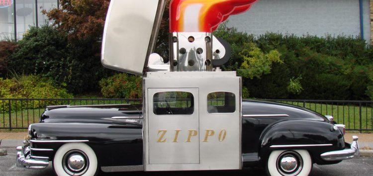 Zippo Car: автомобіль-запальничка