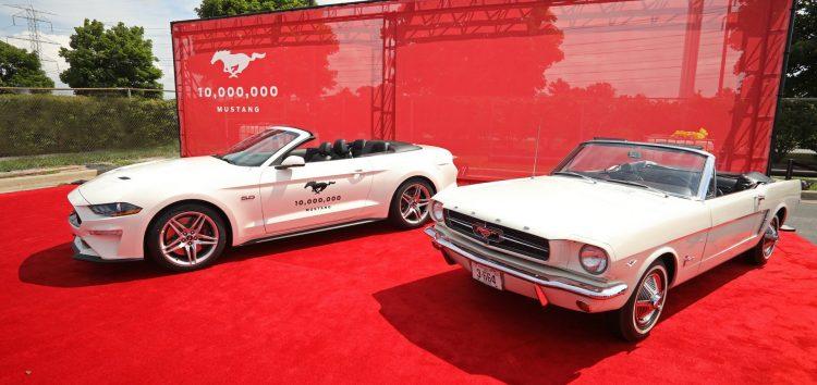 Ford святкує 10-мільйонний Mustang