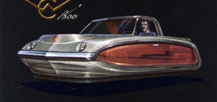 Літаючий автомобіль з п'ятдесятих
