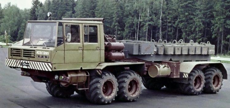 Маловідомі КРАЗи: військовий КРАЗ-6434
