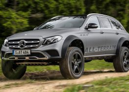 Mercedes продемонстрував здібності E-Class 4×4 (відео)