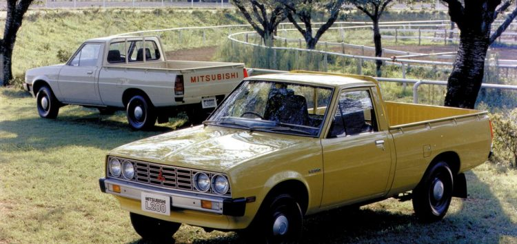 40 років пікапу Mitsubishi L200!