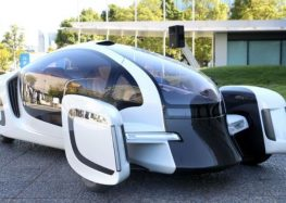 Японці презентували пластиковий електромобіль