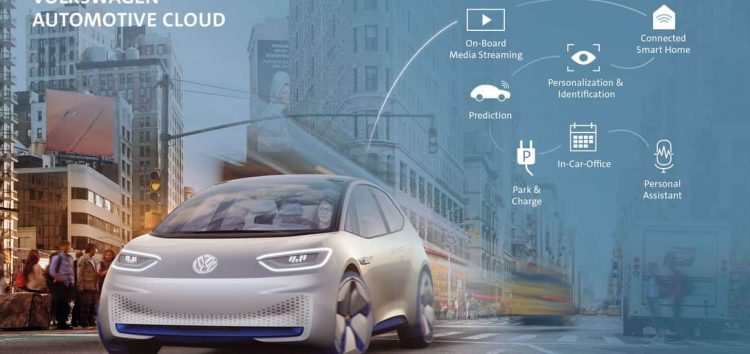 Volkswagen і Microsoft створять «хмарний» сервіс для машин