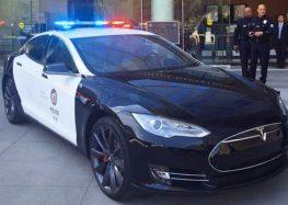 Поліцейський зупинив Tesla через панель приладів (відео)