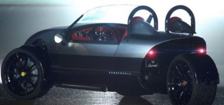 Vanderhall створила найдорожчий спорткар о трьох колесах