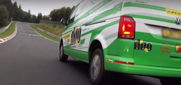 Серійний VW Transporter поставив рекорд Нюрбургрінга