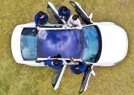 Автомобілі Hyundai та Kia оснастять сонячними батареями