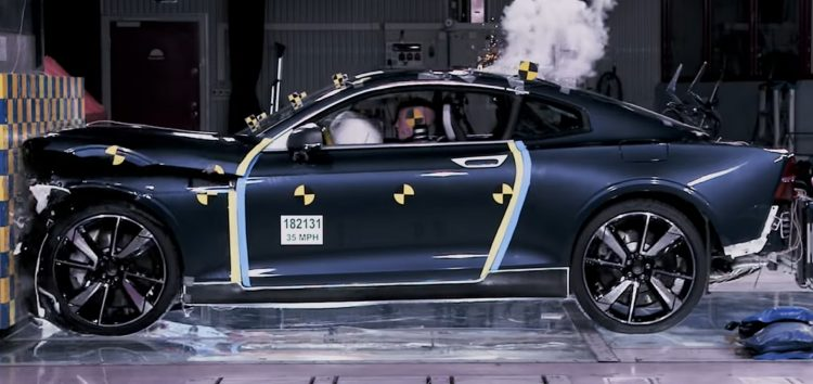 Краш-тест купе Polestar 1 (відео)