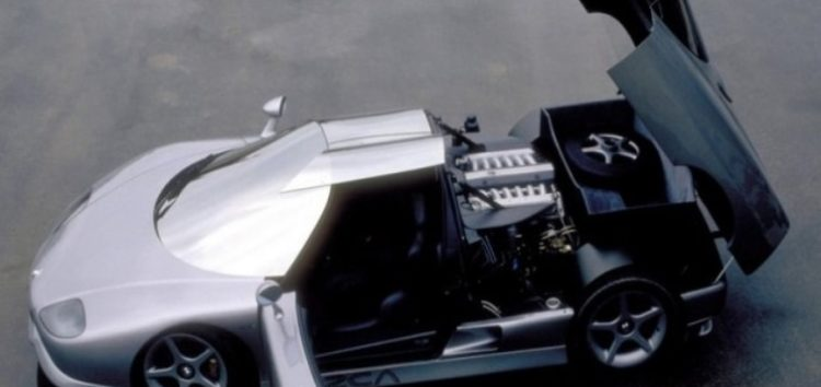 Гіперкари BMW Nazca: версія С2 Spider
