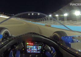 Що бачить пілот гоночного боліда (відео)