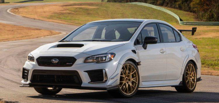 Subaru анонсувала лімітовану екстремальну WRX STi