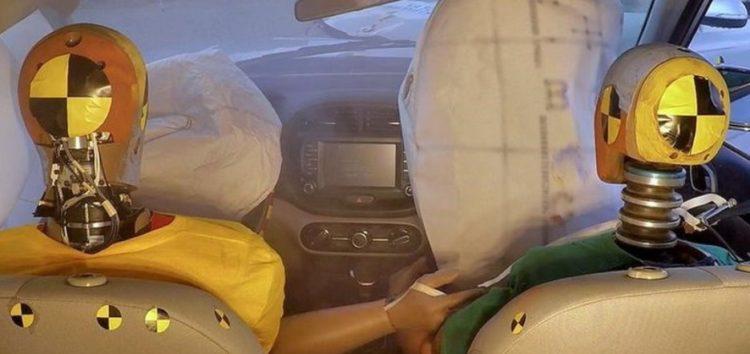 Нові подушки безпеки захистять від декількох зіткнень