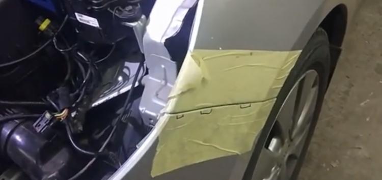 Заміна кріплення бамперу FPS FP 4029 931 на Kia Rio (відео)