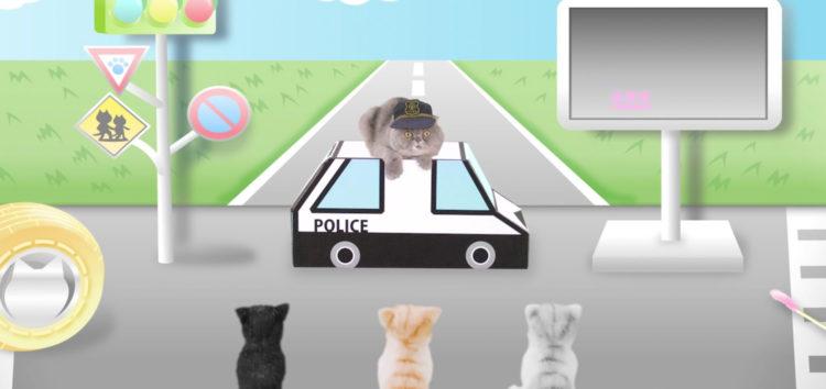В Японії дорожній безпеці навчають навіть котів (відео)