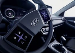 У майбутніх Hyundai буде сенсорне кермо та віртуальна панель приладів
