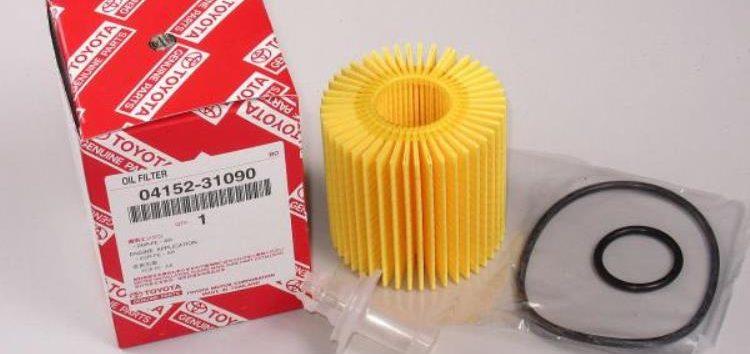 Підробні автозапчастини: фільтр масляний Toyota 04152-31090
