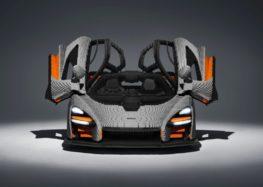 З Lego зробили повнорозмірну копію McLaren Senna
