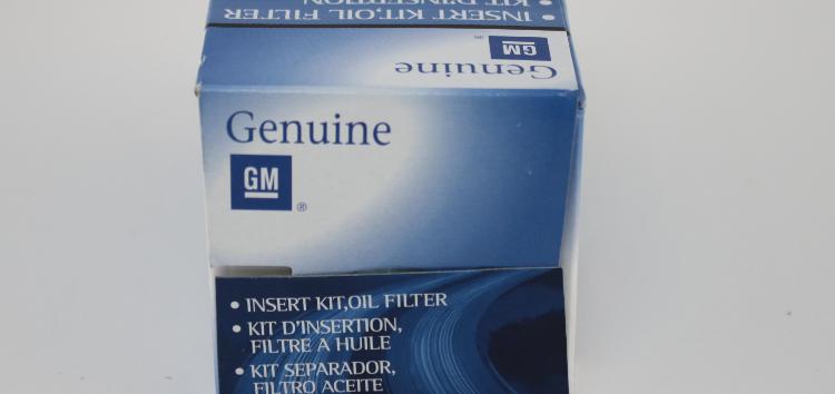 Підробні автозапчастини: фільтр масляний General Motors 55594651