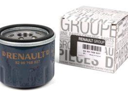 Підробні автозапчастини: масляний фільтр Renault 82 00 768 927