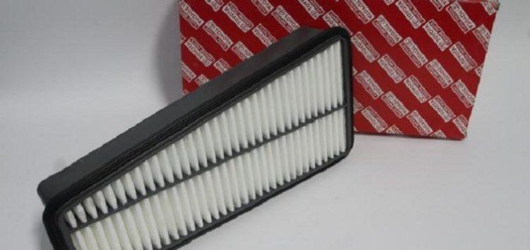 Підробні автозапчастини: повітряний фільтр Toyota 17801-31090